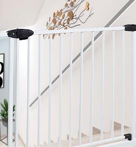 IMPAG® Tür- und Treppenschutzgitter Traffic Light  Polar-Weiß 123...