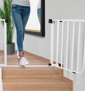 IMPAG® Tür- und Treppenschutzgitter Safe Step  Lava-Anthrazit 123...