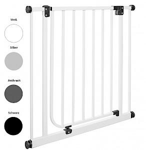 IMPAG® Türschutzgitter Easy Step italo silber 123 - 132 cm