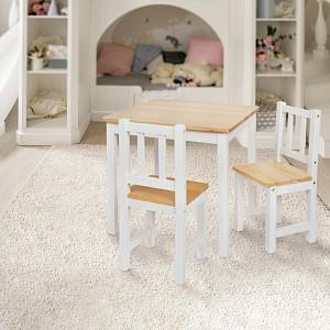 IMPAG® Kindersitzgruppe 1 Tisch & 2 Stühle
