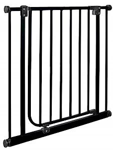 IMPAG® Türschutzgitter Easy Step  Brilliant-Schwarz 123 - 132 cm