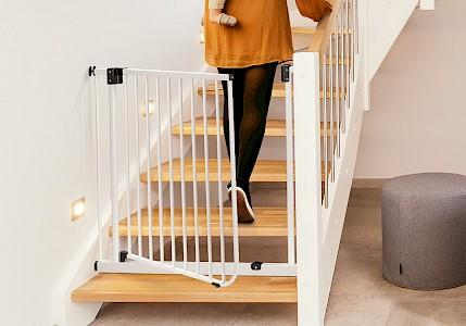 IMPAG® Treppenschutzgitter XXL 85 - 123 cm