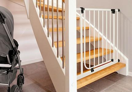 IMPAG®  Treppenschutzgitter Easy Step 62 - 222 cm
