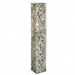 bellissa Steinsäule 2tlg.eckig 20x20x125 cm