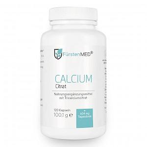 FürstenMED Calcium Citrat 120 Kapseln