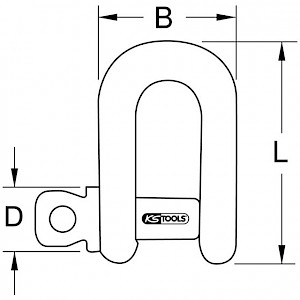 KSTOOLS® - BERYLLIUMplus Schäckel 37x78 mm