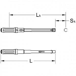 KSTOOLS® - 9x12mm ULTIMATEprecision Einsteck-Drehmomentschlüssel, 5-50Nm