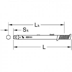 KSTOOLS® - 9x12mm Schnellstell-Drehmomentschlüssel, 10-60Nm