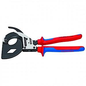KNIPEX® - Kabelschere 95 32 320 Ratschenfunktion poliert MK Ø 60mm 320mm