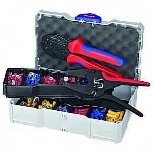 KNIPEX® - Crimp-Sortiment 97 90 22 302-teilig Kunststoffbox