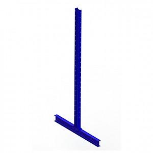 META® - Ständ.Krag.reg. IPE 120 zweis. 2500x2x600x64 St RAL 5010 enz.blau m.Bef.mat.