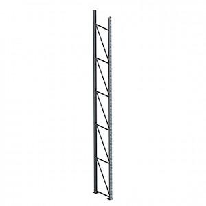 META® - Ständer Pal.reg. 85/2 HxT 6000x800 Stahl verzinkt unmontiert