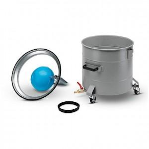 Kärcher - Behälter mit Ablasshahn, Stahl, beschichtet, 60 l