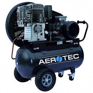 AEROTEC - Keilriemen Kompressor Druckluft Industrie Fahrbar 400V