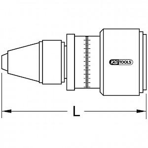 KSTOOLS® - Präzisions-Drehmoment-Prüfgerät, 10-90cNm