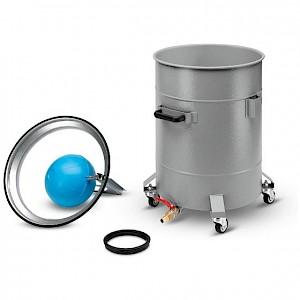 Kärcher - Behälter mit Ablasshahn, Stahl, beschichtet, 100 l