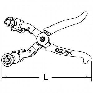 KSTOOLS® - Entmantelungszange, 45-75mm