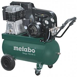 metabo® - Kolbenkompressor (mobil) Mega 700-90 D