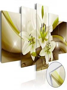 artgeist Acrylglasbild Modern Lily [Glass] mehrfarbig Gr. 100 x 50