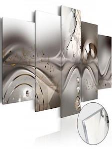 artgeist Acrylglasbild Majesty of the Symmetry [Glass] mehrfarbig Gr. 100 x 50