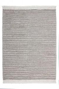 Kayoom Fransenteppich - Natura 110 Natural / Grau grau Gr. 80 x 150
