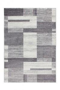 Kayoom Kurzflorteppich - Falkland - Port Louis Silber silber Gr. 120 x 170