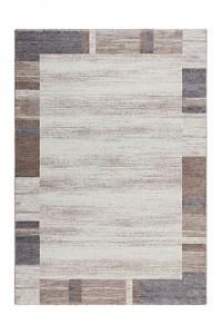 Kayoom Kurzflorteppich - Falkland - Darwin Beige / Silber beige Gr. 120 x 170