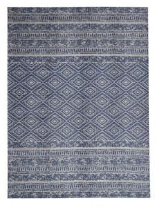 Kayoom Outdoor-Teppich - Sunny 110 Hellblau hellblau Gr. 160 x 160