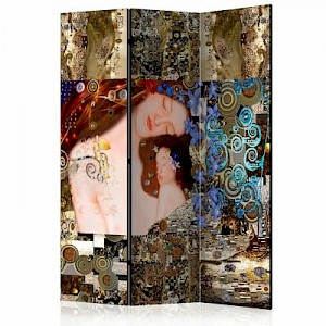 artgeist Paravent Mother's Hug [Room Dividers] braun-kombi Gr. 135 x 172