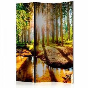 artgeist Paravent Marvelous Forest [Room Dividers] mehrfarbig Gr. 135 x 172