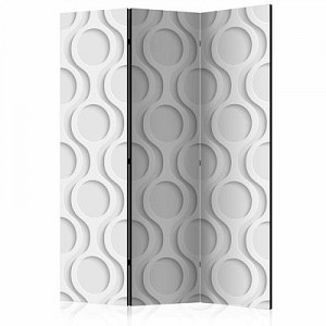artgeist Paravent Chains [Room Dividers] grau/beige Gr. 135 x 172