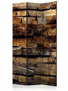artgeist Paravent Reflection of Nature [Room Dividers] schwarz/braun Gr. 135 x 172