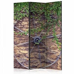 artgeist Paravent Wheel of Time [Room Dividers] mehrfarbig Gr. 135 x 172