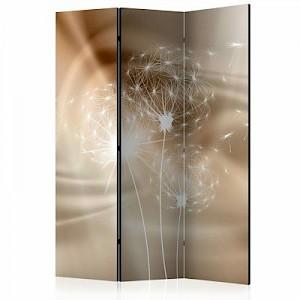 artgeist Paravent Solar Illusion [Room Dividers] weiß/beige Gr. 135 x 172