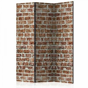 artgeist Paravent Brick Space [Room Dividers] mehrfarbig Gr. 135 x 172