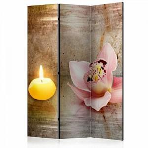 artgeist Paravent Romantic Evening [Room Dividers] gelb-kombi Gr. 135 x 172