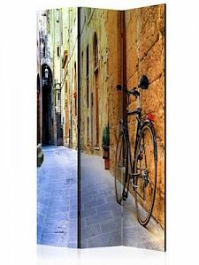 artgeist Paravent Italy Holidays [Room Dividers] beige-kombi Gr. 135 x 172