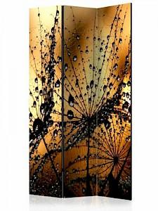artgeist Paravent Dandelions in the Rain [Room Dividers] mehrfarbig Gr. 135 x 172
