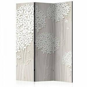 artgeist Paravent Creamy Daintiness [Room Dividers] weiß/beige Gr. 135 x 172