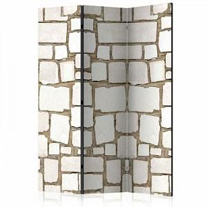 artgeist Paravent Stone Riddle [Room Dividers] braun/beige Gr. 135 x 172