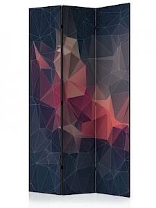 artgeist Paravent Abstract Bird [Room Dividers] braun-kombi Gr. 135 x 172