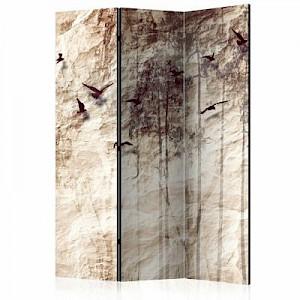 artgeist Paravent Paper Nature [Room Dividers] sand Gr. 135 x 172
