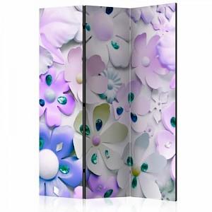 artgeist Paravent Purple Sweetness [Room Dividers] mehrfarbig Gr. 135 x 172