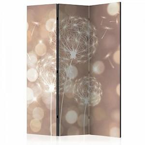 artgeist Paravent Étude of the Sun [Room Dividers] gelb-kombi Gr. 135 x 172