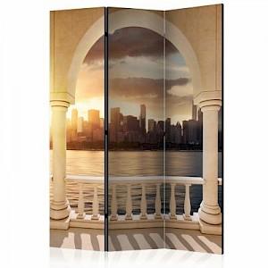 artgeist Paravent Dream about New York [Room Dividers] gelb-kombi Gr. 135 x 172