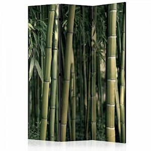 artgeist Paravent Bamboo Exotic [Room Dividers] gelb-kombi Gr. 135 x 172