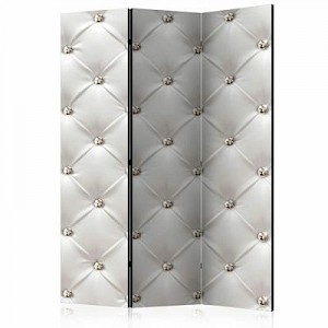 artgeist Paravent White Elegance [Room Dividers] weiß Gr. 135 x 172