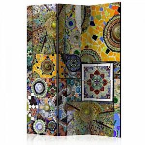 artgeist Paravent Solar Mosaic [Room Dividers] mehrfarbig Gr. 135 x 172