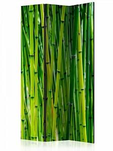artgeist Paravent Bamboo Forest [Room Dividers] grün Gr. 135 x 172