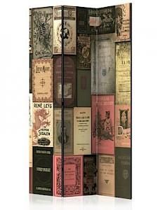 artgeist Paravent Books of Paradise [Room Dividers] mehrfarbig Gr. 135 x 172